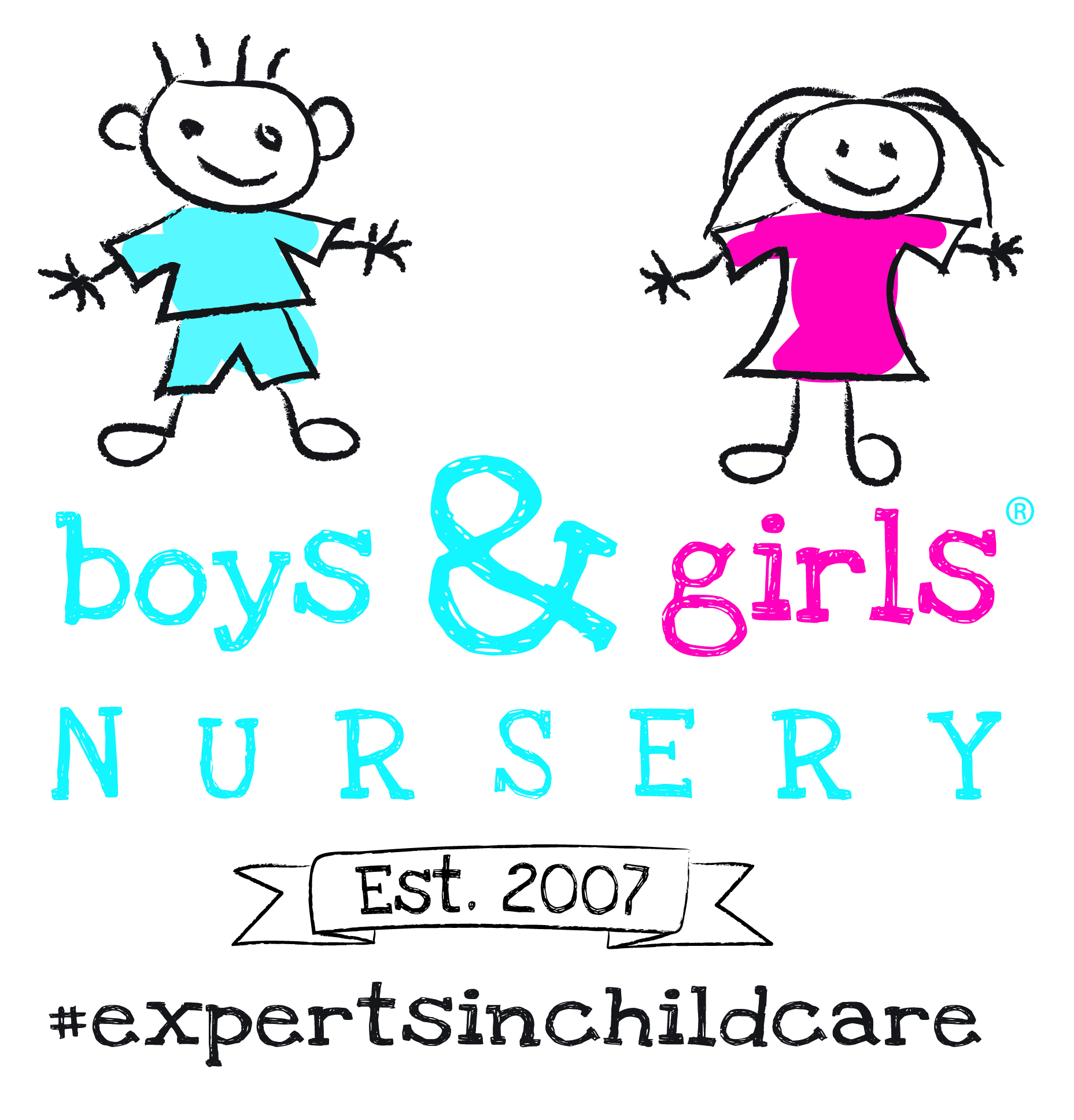 Boys and Girls Nursery Logo